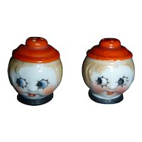 Wonderful Little Faces  Salt and Pepper Shakers