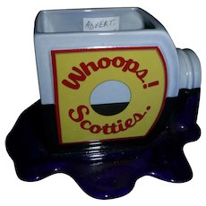 """Advertisement """"Whoopa  Scotties""""  Cup"""