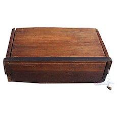 Vintage Invincibles Cigar Box