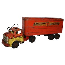 Vintage Toy Wyandotte Chieftain Lines Truck and Trailer