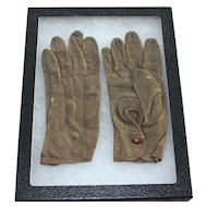 Vintage Northrup Childs Leather Gloves