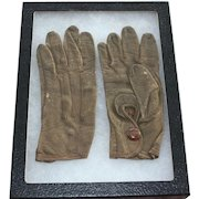 Vintage Northrup Childs Leather Gloves