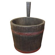 18-19th Century Primitive Piggin Bucket