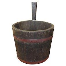 18-19th Century Primitive Piggin Bucket