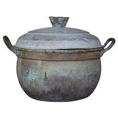 Vintage  Copper Pot