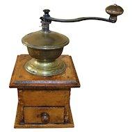 Vintage Table Top Coffee Mill