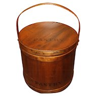 Large Firkin Pantry Bucket