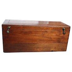Fine Dovetailed Walnut chest