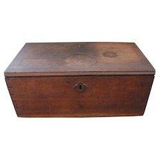 19th Century Dovetailed Walnut Ballot box