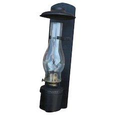 Pennsylvania Railroad Dressel Wall Mount Caboose Lamp