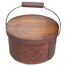 19th Century Pantry Box With Bail
