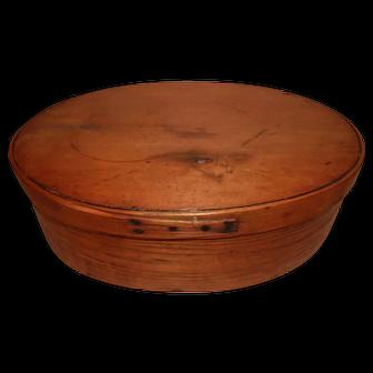 Rare Large Oval Pantry Box