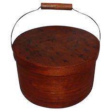 19th Century Pantry Box W/ Bail Handle