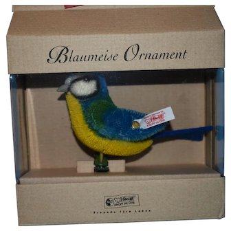 Steiff Bluetit/Blaumeise Ornament