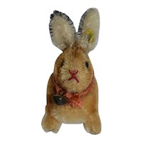 Grumpy  Steiff Rabbit with RSB , 9 cm