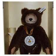 Steiff Dicky Brown Bear Replica