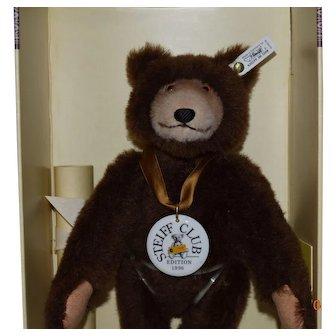 Steiff Dicky Brown Bear Replica