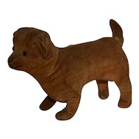 Cute Antique Velvet Dog