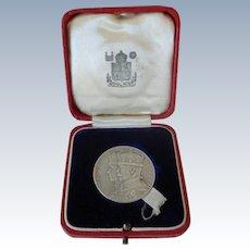 Sterling Silver Jubilee Medal George V