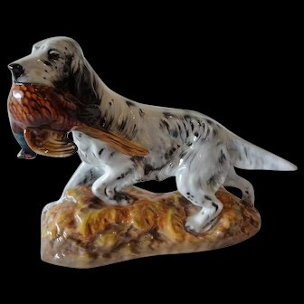 Royal Doulton English Setter with Pheasant