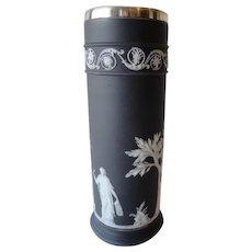 Wedgewood Rare Black Spill Vase