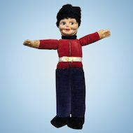 Vintage Smaller Sized Norah Wellings British Guard Doll