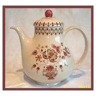 Johnson Bros Jamestown Coffee pot