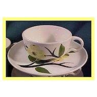 Stetson Joni Dixie Dogwood Cup & Saucer ~ 5 available