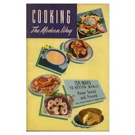 Planter's Peanut Oil Cookbook ~ Cooking the Modern Way