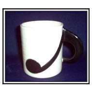 Fitz & Floyd Musical Note Mug