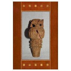 Old Scottie Dog Bottle Cork