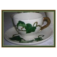 Metlox Pottery California Ivy Poppytrail Cup & Saucer