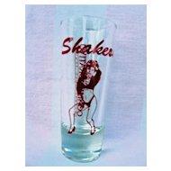 Sauza Conmemorativo Shakers Sexy Lady Shot Glass