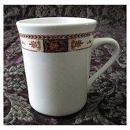 Syracuse China Coffee Mug Webster Pattern