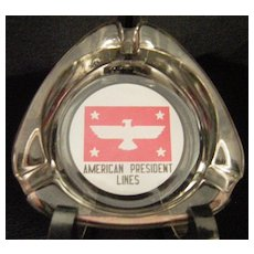 American President Lines Ashtray APL