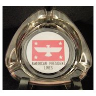 American President Lines Ashtray