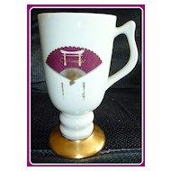 Vintage Las Vegas Castaways Hotel & Casino Pedestal Mug by Hall China