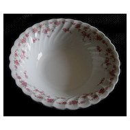 "Franciscan China ""Brides Bouquet"" Vegetable Bowl"