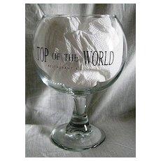 Stratosphere Top of the World Restaurant & Lounge Tidbit Bowl