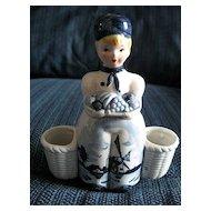 Blue Delft Figurine Holder