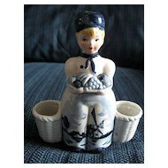 Blue Delft Figurine Holder