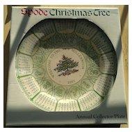 Spode 2001 Calendar Millennium Plate NIB