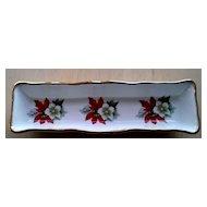 P.S. Poinsettia Christmas Holiday Dish