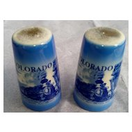 Colorful Colorado Salt & Pepper Shaker Set