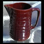 """Mar-crest Daisy and Dot Jumbo 8"""" Beverage Pitcher & 6"""" Pitcher"""