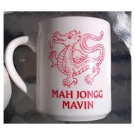 Mah Jongg Mavin Coffee Cup