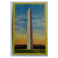 Vintage Postcards, Scenic Art Series, Washington DC