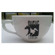 Queue de Cheval Bar & Steakhouse Coffee Cup