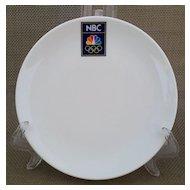 NBC Olympics Appetizer Plate Set