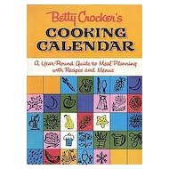 Betty Crocker Cooking Calendar Recipe Book